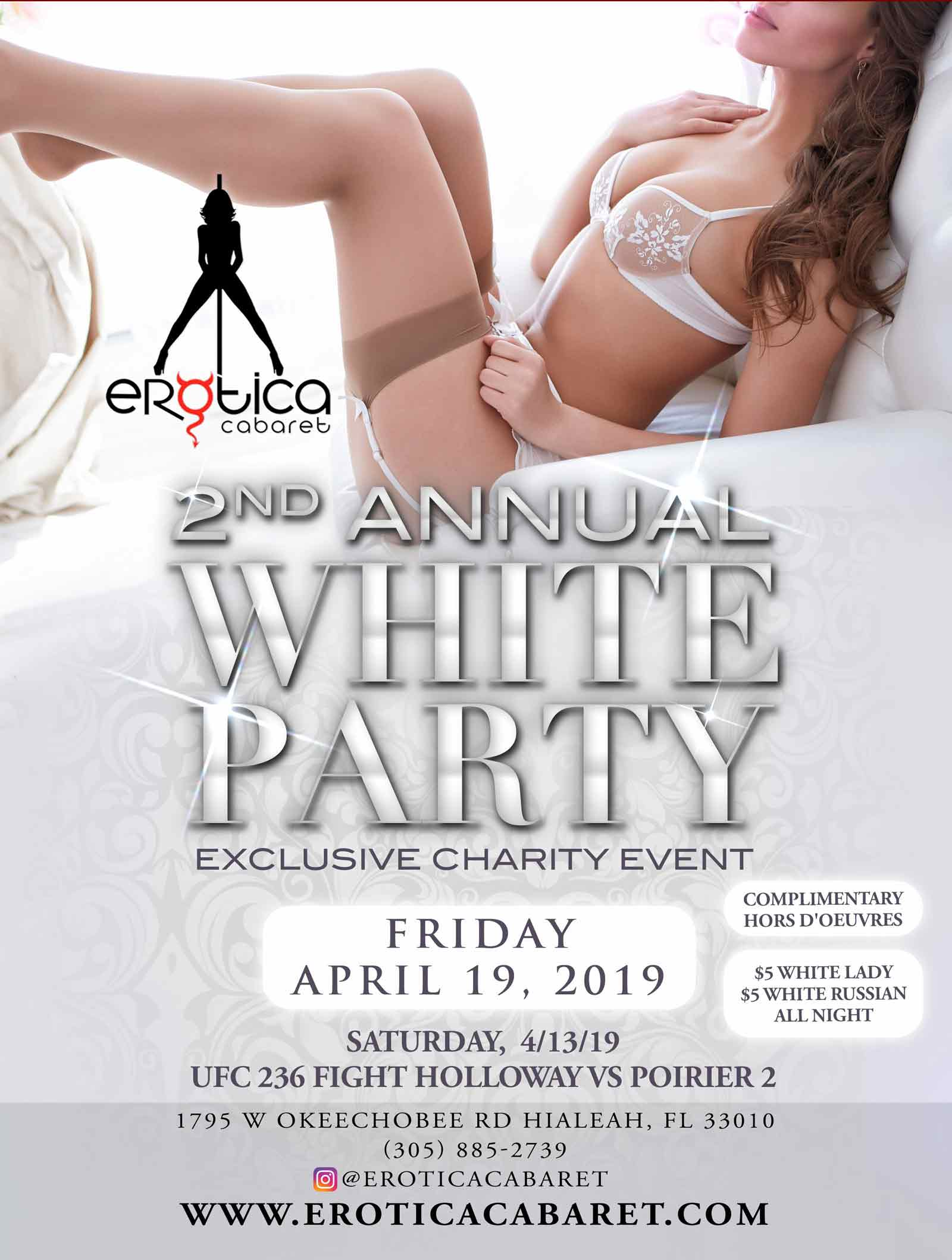 white annual party